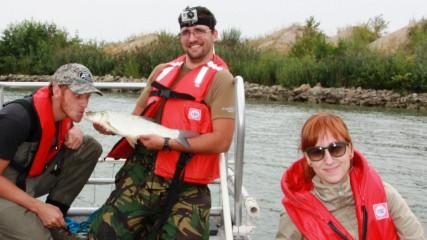 Joint Danube Survey travel downstream