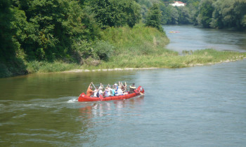 Ziller / Donauauwald Neuburg-Ingolstadt - Paddling in the sidearms of the Danube in Germany