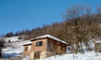 Djerdap National Park - Settlements in the hills around the Danube