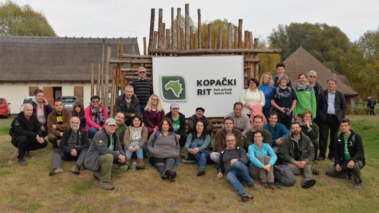 DANUBEPARKS 2019 Conference in Kopački rit